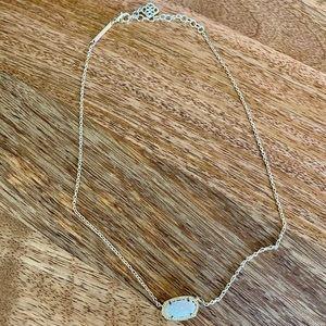 Kendra Scott Elisa pendent necklace gold tone